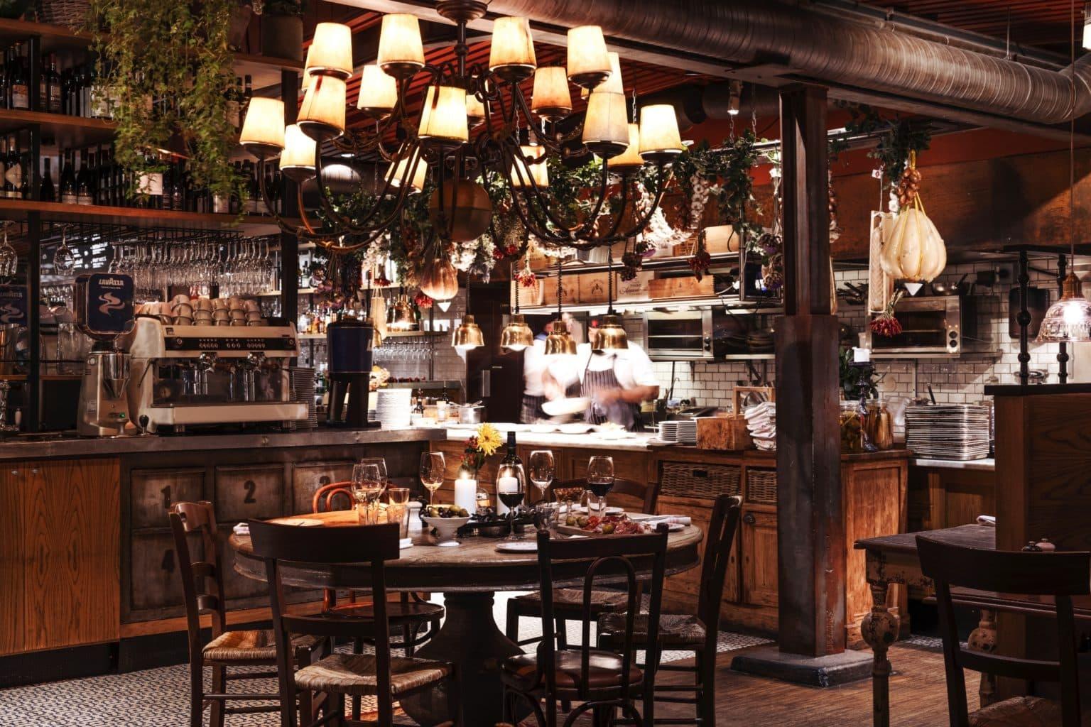 italiensk restaurang